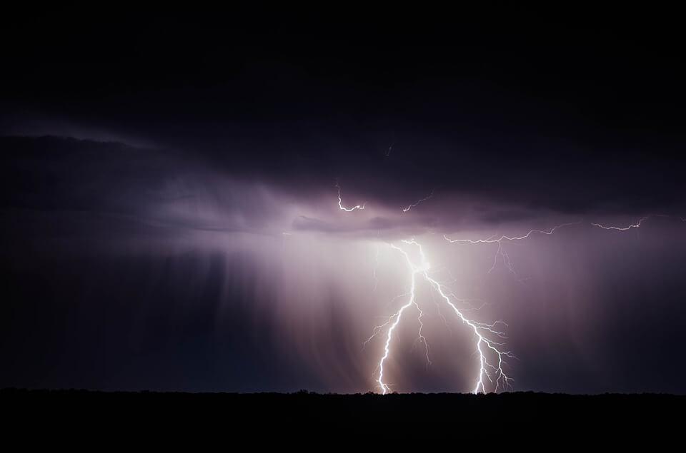 Дождевые бури в Израиле