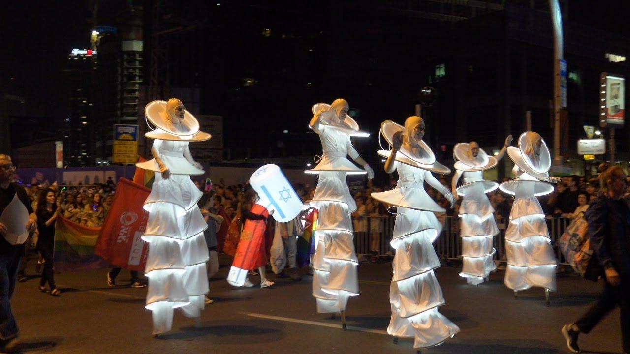 Израиль 70. Парад Света в Тель Авиве. Parade of Light Tel Aviv.